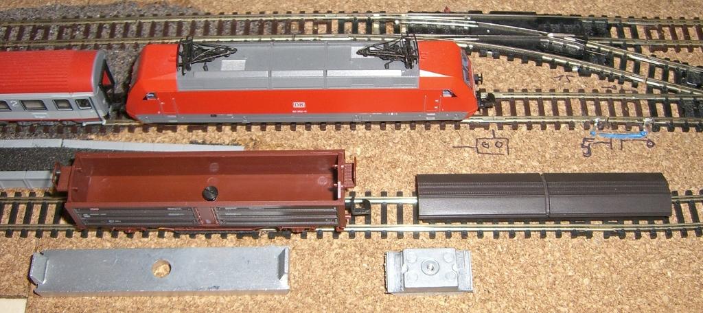 Roco Schienenreinigungswagen mit System-Jörger-Filz