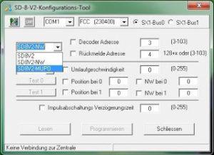 SD-8-V2-Konfigurations-Tool - (C) Hans-Jochen Bachmann