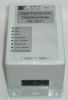 Digit-Electronic: Digitalzentrale & Gleisbelegtmelder