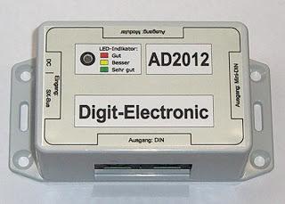 Digit-Electronic: Adapter Modular-Buchsen  DIN-Buchsen