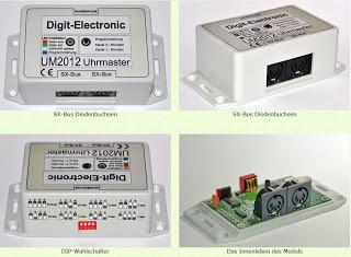 Digit-Electronic: Uhrmaster 2012