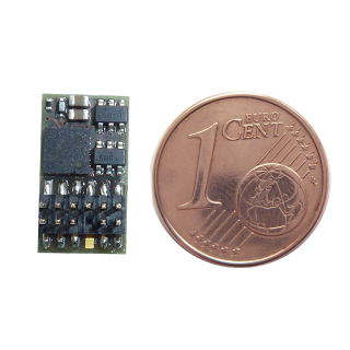 Firma Stärz: Exklusiv-Lokdecoder DH12C mit Plux12 und 1-fach Servomodul verfügbar