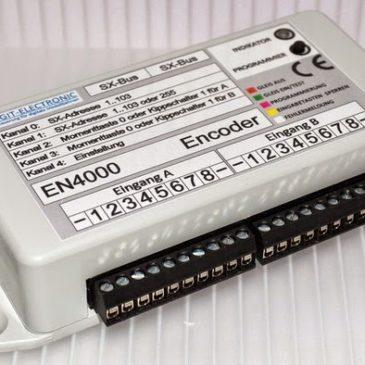 Digit-Electronic: Neuer 16-fach Encoder (Eingabegerät) verfügbar