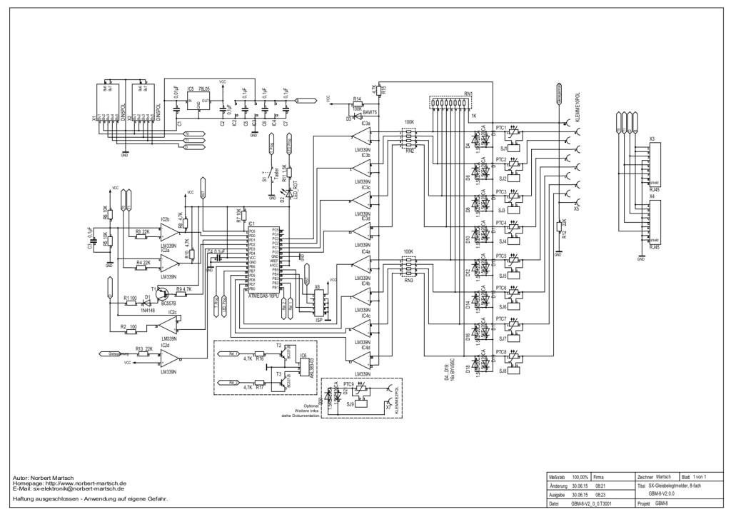 GBM-8-V2.0 Schaltplan