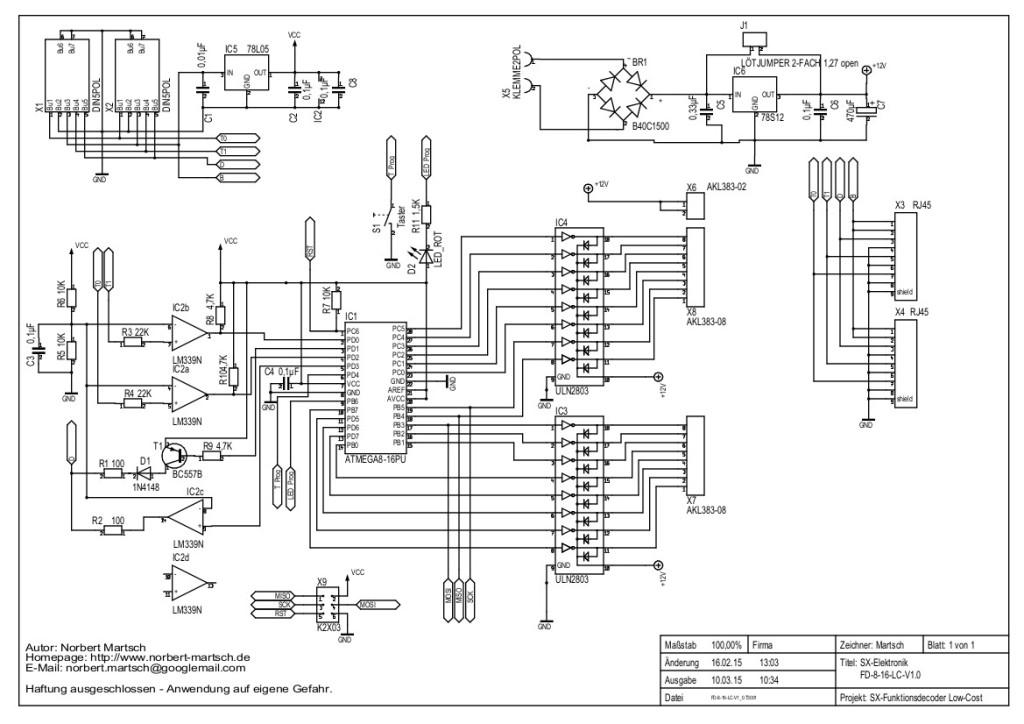LFD-8-16-V1.0 Schaltplan