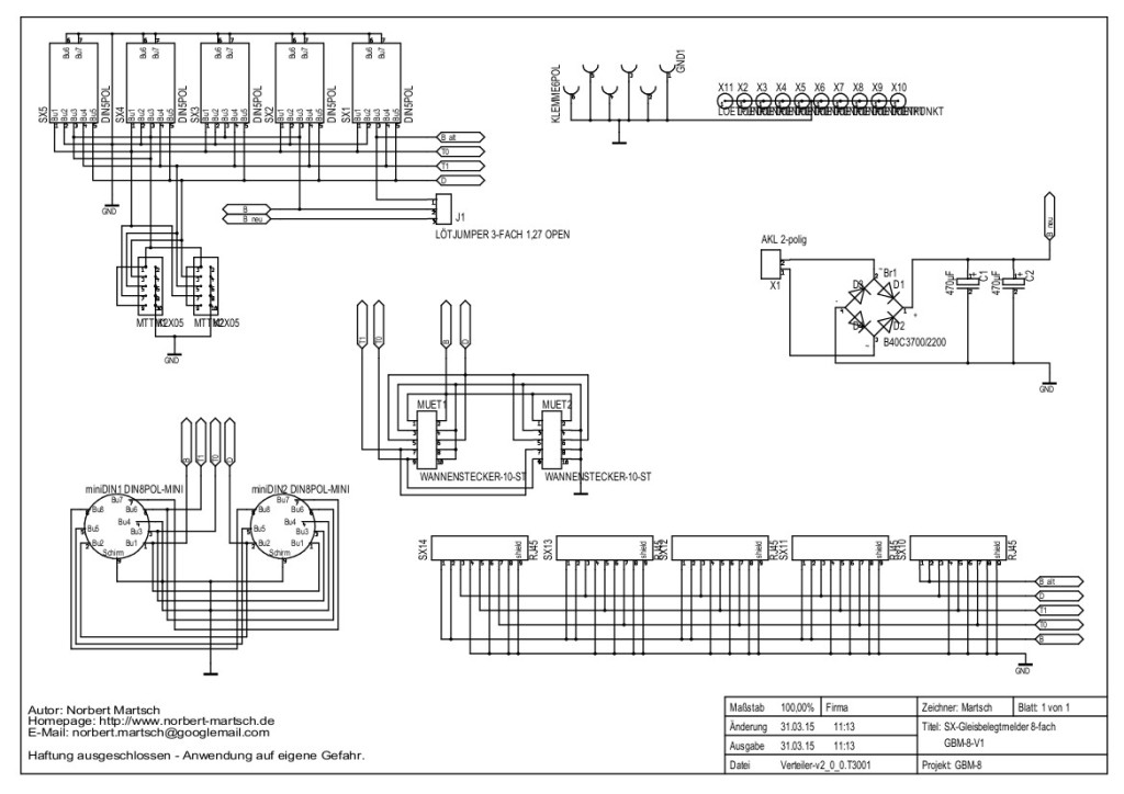 VT-V2.0 Schaltplan