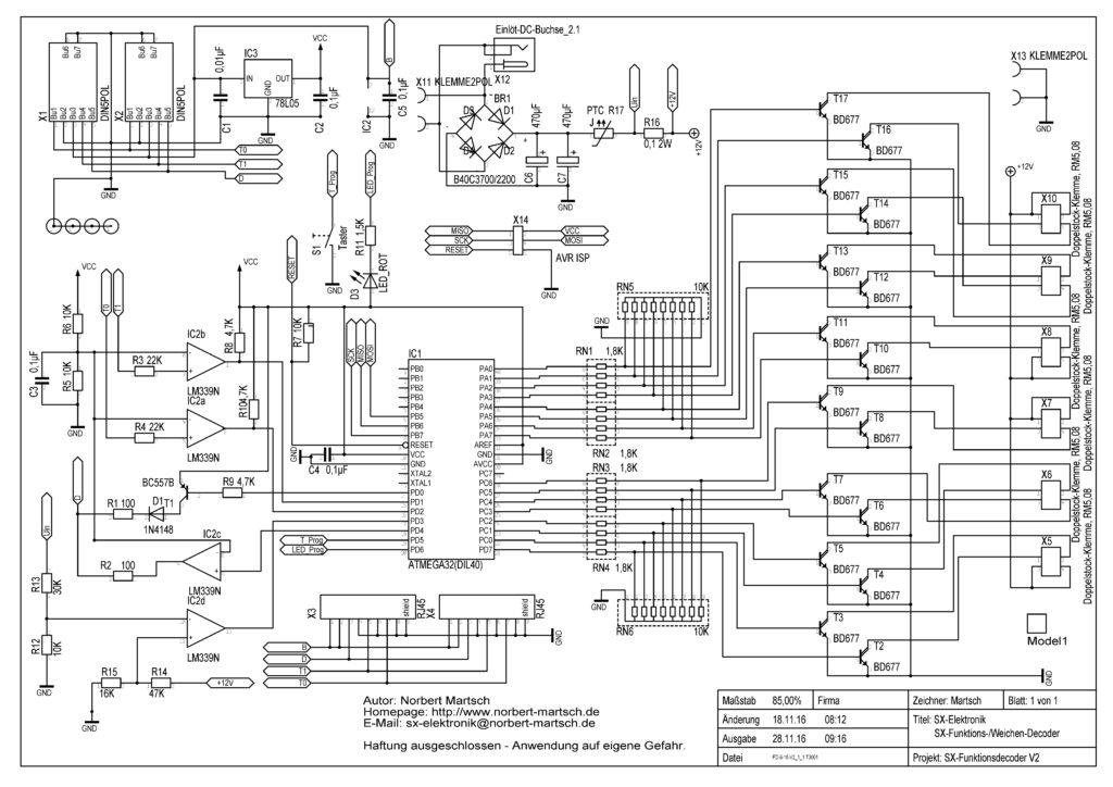 FD-8-16-V2.1.1 Schaltplan