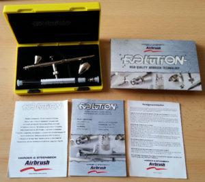 Harder & Steebeck Evolution Silverline 2in1 komplett
