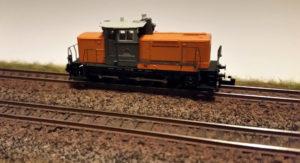 Erste Versuche mit Airbrush an der Modellbahn - Gleise rosten
