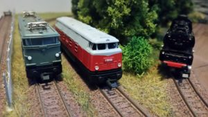 DDR-Modelle Piko BB9210, BR118, BR65
