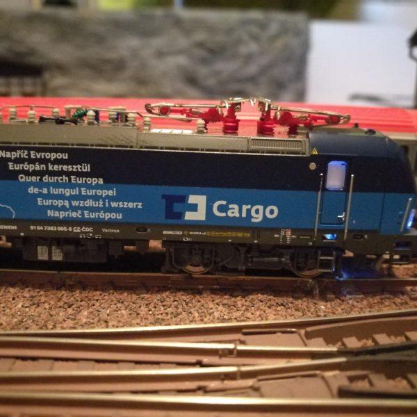 Hobbytrain 2985-1 CD Cargo E-Lok Serie 383 Ep.6