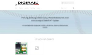 Digirail® neue Homepage - (C) by Dieter Stollner - Digirail®