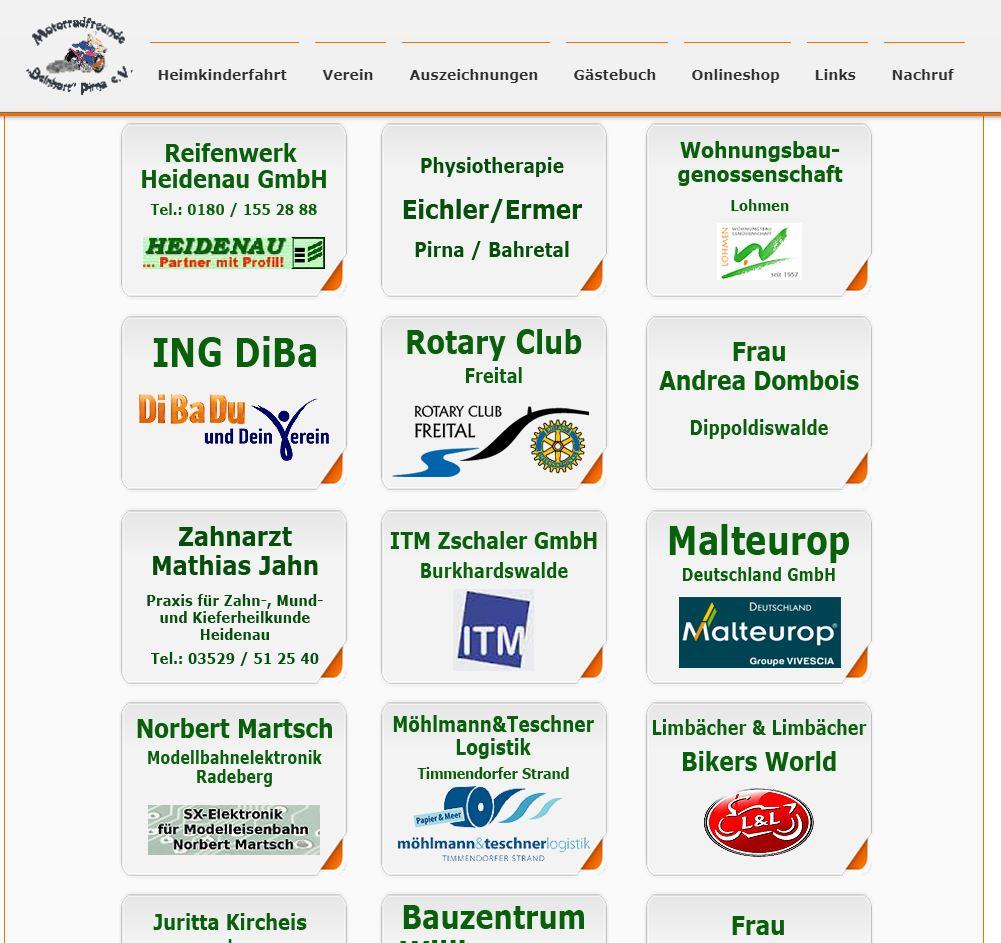HKF 2018 Sponsoring, Quelle: Screenshot vom 05.11.2019 Sponsorenseite HKF 2018 https://www.motorradfreunde-pirna.de
